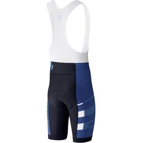 Shimano Team Bib Shorts Herren navy